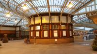 The station concourse at Wemyss Bay in February 2017.<br><br>[Jeffray Wotherspoon&nbsp;06/02/2017]