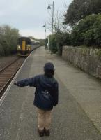 A young passenger asks the 09.38 to Newquay to stop at Roche on 12th April.<br><br>[Ken Strachan&nbsp;12/04/2017]