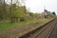 A view south of the former station at Little Salkeld on 19 April 2017. [See image 22618]<br><br>[John McIntyre&nbsp;19/04/2017]
