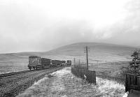 Track recovery train near Steele Road station on the Waverley Route in late 1969.<br><br>[Bruce McCartney&nbsp;//1969]