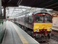 66 746 with the Royal Scotsman at Waverley Platform 19 on the morning of<br> Monday, 22/05/2017.<br><br>[David Panton&nbsp;22/05/2017]
