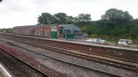 Yeovil Junction, seen on 30th May 2017. This is the busier of the town's two surviving stations and still has numerous buildings and sidings. <br><br>[Alan Cormack&nbsp;30/05/2017]