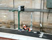 New signalling being installed at Waverley in November 2006 on the the under-construction 'Balmoral' through platform on the north side of the station.<br><br>[John Furnevel&nbsp;25/11/2006]