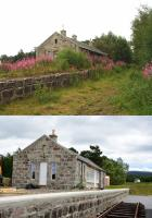 What a difference ten years makes; a then and now shot of Grantown-on Spey East,as the work continues to turn the former station into a visitor centre.<br><br>[John Gray&nbsp;18/06/2017]
