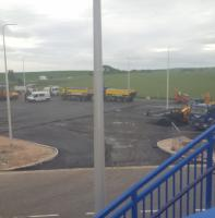 Another new car park under construction at Leuchars station. [Perhaps there is a large, and formerly rail served, town nearby -Ed].<br><br>[John Yellowlees&nbsp;16/06/2017]
