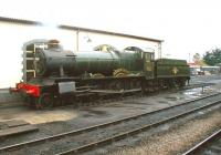 Collett 4-6-0 7820 <I>Dinmore Manor</I> taking a break at Minehead in June 2002.<br><br>[Ian Dinmore&nbsp;06/06/2002]