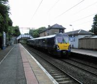 A Milngavie to Motherwell service calls at Bearsden on 17/06/2017.<br><br>[David Panton&nbsp;17/06/2017]