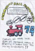 Here is the launch leaflet from the Rail 74 Community Rail Partnership.<br><br>[John Yellowlees&nbsp;04/06/2017]