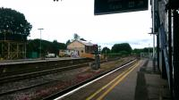 Yeovil Junction station, 30th May 2017. Numerous buildings and sidings and quite a busy station.<br><br>[Alan Cormack&nbsp;30/05/2017]