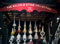Malcolm Stone has very sensibly and generously lent his collection of signal finials to the Launceston Railway Museum.<br><br>[Ken Strachan&nbsp;14/04/2017]