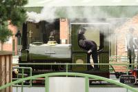 Profile shot of LIASSIC, a Peckett 0-6-0ST Works No. 1632 of 1923, at Statfold Open Day. The locomotive originally worked at the Southam Cement Works near Rugby before preservation.<br> <br><br>[Peter Todd&nbsp;10/10/2017]