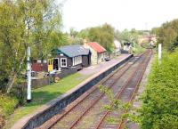 Looking north over Andrews House station on the Tanfield Railway in May 2006. Completed in 1989, the station lies just to the south of Marley Hill shed.<br><br>[John Furnevel&nbsp;09/05/2006]