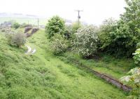 Remains at Stow - looking north from the road bridge on 27 May 2005.<br><br>[John Furnevel&nbsp;27/05/2005]