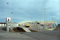 A DMU waits in Ardrossan Harbour station.<br><br>[Andy Kirkham&nbsp;//]