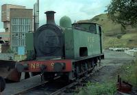 No 9 rests at Bedlay Colliery. This locomotive can now be found at the Summerlee Museum.<br><br>[Andy Kirkham&nbsp;//]