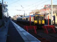 1231 Dalmuir-Larkhall just arrived.<br><br>[Andy Kirkham&nbsp;12/12/2005]