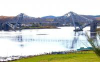 Connel Ferry Bridge from the north shore looking west in April 2005.<br><br>[John Furnevel&nbsp;15/04/2005]