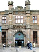 Welcome to Paisley Gilmour Street - main northside station entrance in July 2005.<br><br>[John Furnevel&nbsp;30/07/2005]