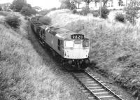 5367 nears Drongan in March 1972 with empties from Ayr Harbour for Killoch.<br><br>[John Furnevel&nbsp;04/03/1972]