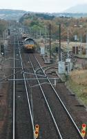 The line closed at Ravenstruther during track repairs to the west of Carstairs station.<br><br>[Ewan Crawford&nbsp;//2005]