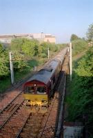 Approaching Mossend East Junction from the east.<br><br>[Ewan Crawford&nbsp;//]
