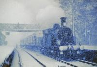 CR123 meets wintry weather.<br><br>[John Robin&nbsp;12/04/1963]