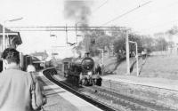 54465 with last day of steam railtour to Beith<br><br>[John Robin&nbsp;27/05/1962]