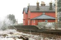 Looking north from the former goods yard towards Thornhill station on a cold and frosty 31 January 2006. <br><br>[John Furnevel&nbsp;31/01/2006]