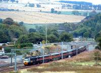 GNER service at Grantshouse. Aha, a new viewpoint ...<br><br>[Ewan Crawford&nbsp;/09/2003]