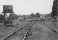 View of station yard.<br><br>[John Robin&nbsp;04/07/1964]