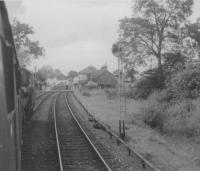 45461 enters with train from Gleneagles to Comrie.<br><br>[John Robin&nbsp;14/09/1963]
