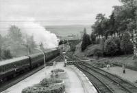 45136 leaves Gleneagles for Stirling.<br><br>[John Robin&nbsp;14/09/1963]