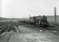 45474 enters Gleneagles with Glasgow train.<br><br>[John Robin&nbsp;04/07/1964]