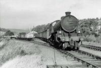 61134 carries out some shunting at Catrine in September 1963 before returning to Ayr.<br><br>[John Robin&nbsp;30/09/1963]