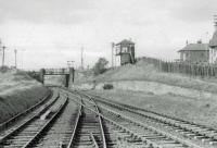 View towards Ayr from the platform end.<br><br>[John Robin&nbsp;30/09/1963]