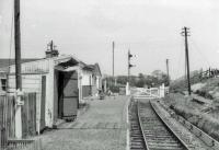 Crook of Devon station on the Devon Valley line.<br><br>[John Robin&nbsp;07/06/1963]
