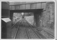 West end of Comrie station looking to St Fillans.<br><br>[John Robin&nbsp;04/07/1964]