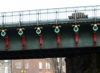 Detail on Caledonian Railway Bridge over Gorgie Road. 2006.<br><br>[John Furnevel&nbsp;19/02/2006]