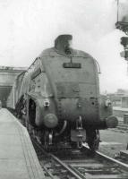 60012 leaves Perth on 3 hour train from Aberdeen to Glasgow.<br><br>[John Robin&nbsp;14/08/1963]