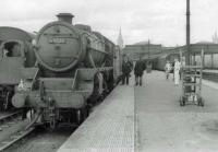 44931 ready to leave Aberdeen with the Postal for Glasgow.<br><br>[John Robin&nbsp;24/08/1963]