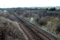 Cawburn Junction looking west to Bathgate. From here the passenger line is single track.<br><br>[Ewan Crawford&nbsp;//]
