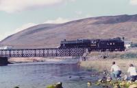5025 taking water at Achnasheen before continuing to Kyle of Lochalsh.<br><br>[John Robin&nbsp;25/09/1982]