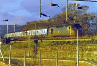 27034 with evening train from Mallaig passing site of Craigendoran Upper station.<br><br>[John Robin&nbsp;//]