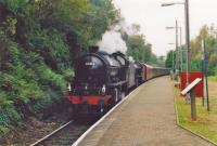 62012 pilots B1 with train from Fort William.<br><br>[John Robin&nbsp;//]