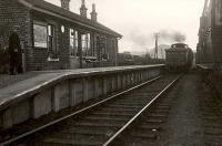 Dumgoyne Platform. Ex N.B.R. 0.6.0 64598 Aberfoyle Bound.