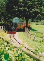 The 15 inch gauge MPLR operated from 1989 to 2016. It is currently derelict, with some track lifted. 0-4-2T Markeaton Lady now operates on the Evesham Vale Light Railway, where it has been renamed Monty.<br><br>[Ken Strachan&nbsp;29/07/2007]