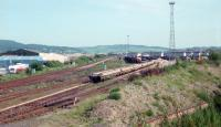 North end of Perth New Yard in 1989, looking south.<br><br>[Ewan Crawford&nbsp;//1989]