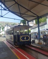A Great Orme tram at Victoria Station, Llandudno.<br><br>[John Yellowlees&nbsp;19/06/2017]