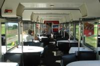 Swiss Railways' train EC6 from Mannheim to Cologne on 12th June also<br> offered the delights of a traditional buffet / bistro car - available to both First and Second Class passengers.<br> <br><br>[David Spaven&nbsp;12/06/2017]
