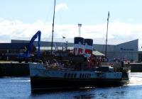 PS Waverley has finally reached Ayr for the first time after no show on  four scheduled calls. Arrived yesterday evening and now setting off 9/7 for Largs etc. and eventually Tarbert.<br><br>[Colin Miller&nbsp;09/07/2017]